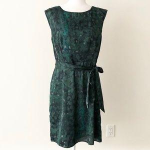 Ann Taylor LOFT Outlet   Side Tie Faux Wrap Dress